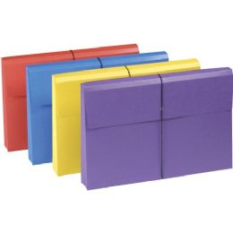 10 of Smead 77300 Assortment Colored Expanding Wallets With Antimicrobial Product Protection