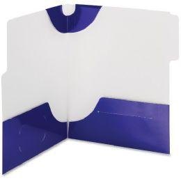 20 of Smead 87964 Blue Supertab TwO-Pocket File Folder