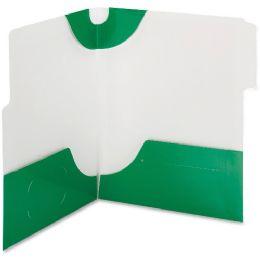 20 of Smead 87965 Green Supertab TwO-Pocket File Folder