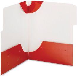 20 of Smead 87966 Red Supertab TwO-Pocket File Folder