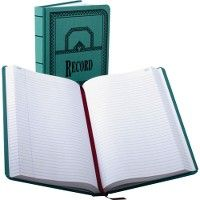 Boorum & Pease Boorum 66 Series Blue Canvas Record Books
