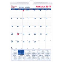 Brownline Monthly Wall Calendar