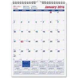 33 of Brownline Monthly Wall Calendar