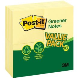 PosT-It Greener Notes Recycled Pads
