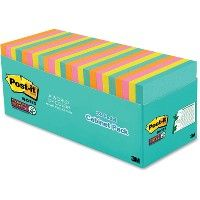 PosT-It Miami Super Sticky Notes Cabinet Pack