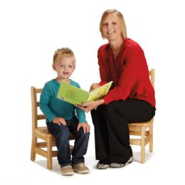 "JontI-Craft Instructors Ladderback Chair - 12"" Height"