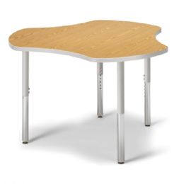 "Berries Collaborative Hub Table - 44"" X 47"" - Oak/gray"