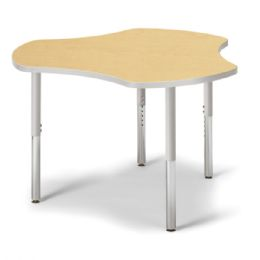 "Berries Collaborative Hub Table - 44"" X 47"" - Maple/gray"