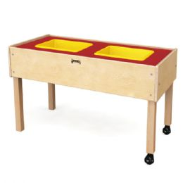 JontI-Craft Toddler 2 Tub Sensory Table