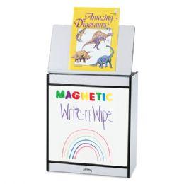 Rainbow Accents Big Book Easel - Magnetic WritE-N-Wipe - Blue