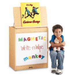 Maplewave Big Book Easel - Magnetic WritE-N-Wipe