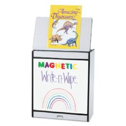 Rainbow Accents Big Book Easel - Magnetic WritE-N-Wipe - Black