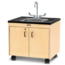 "JontI-Craft Clean Hands Helper - 26"" Counter - Stainless Steel Sink"