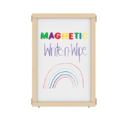 """Kydz Suite Panel - A-Height - 24"""" Wide - Magnetic WritE-N-Wipe"""