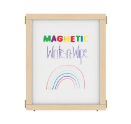 """Kydz Suite Panel - E-Height - 24"""" Wide - Magnetic WritE-N-Wipe"""