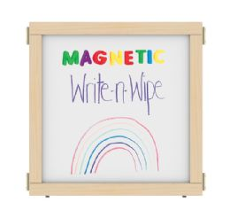 "Kydz Suite Panel - T-Height - 24"" Wide - Magnetic WritE-N-Wipe"