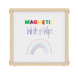 """Kydz Suite Panel - A-Height - 36"""" Wide - Magnetic WritE-N-Wipe"""