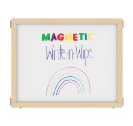 """Kydz Suite Panel - E-Height - 36"""" Wide - Magnetic WritE-N-Wipe"""