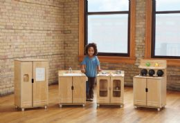 Truemodern Play Kitchen Fridge