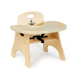 "JontI-Craft High Chairries Tray - 5"" Seat Height"