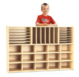 Young Time Sectional Cubbie Storage - Without Trays - Rta