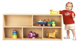 Young Time Toddler Two Shelf Storage - Rta