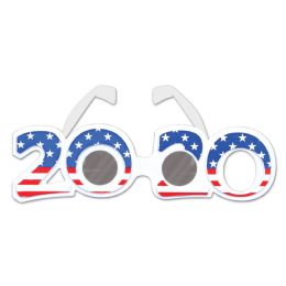 12 of 2020 Patriotic Plastic Eyeglasses One Size Fits Most
