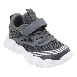 36 of Boys Sneaker Casual Sports Shoe In Gray