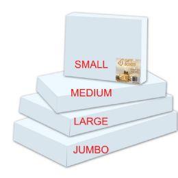 96 of Three Pack White Gift Box In Size Medium