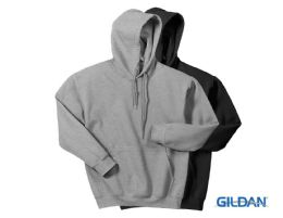 24 of Gildan Mens Irregular Fleece Hoodie Assorted Sizes