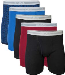 144 of Gildan Mens Imperfect Boxer Briefs, Assorted Colors And Sizes Bulk Buy