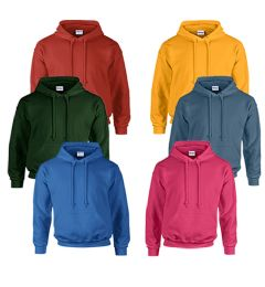 240 of Gildan Unisex Mill Graded Irregular 2ND Hooded Pullover Sweat Shirts