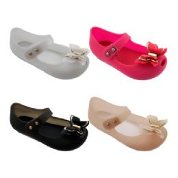 48 of Girls Butterfly Mary Jane Shoes In Fuschia