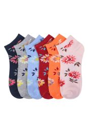 432 of Women's Printed Casual Spandex Ankle Socks Size 9-11