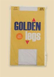72 of Golden Legs Kids Tights Size 7-10 In White