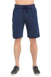 12 of Knocker Men's Fleece Shorts In Navy Size Xx Large