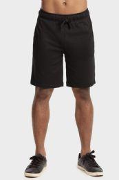 12 of Knocker Mens Lightweight Terry Shorts In Black Size Medium