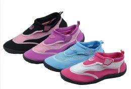 36 of Ladies' Aqua Socks Size 6-11 Assorted Colors