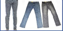 24 of Men's Fashion Jeans In Faded Blue