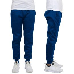 24 of Men's Heavy Weight Joggers In Royal Blue Size L