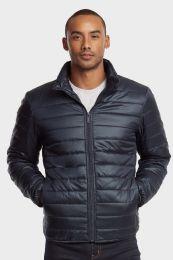 12 of Men's Puff Jacket In Navy Size Medium