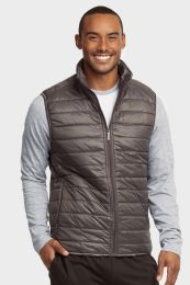 12 of Mens Lightweight Puffer Vest Size 3 X Large