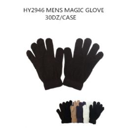 108 of Mens Magic Gloves Assorted Colors