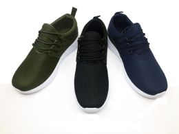12 of Modern Mens Breathable Sneakers With Laces In Green