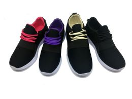 12 of Modern Two Tone Women's Sneakers In Black And Purple