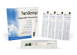 2000 of Nextemp (standard) SinglE-Use Clinical Thermometer Disposable Individually Wrapped Fahrenheit