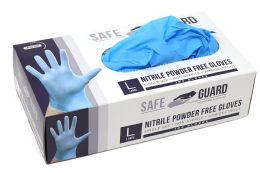1000 of Nitrile Powder Free Exam Gloves Single Use Medical Graded Size L
