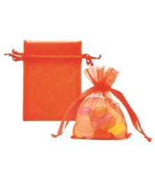 144 of Organza Pouches Orange