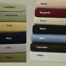 6 of Queen Size Bamboo Cotton Sheet Sets High Quality Blue Only