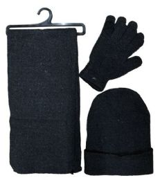 72 of SOCKS'NBULK 3Piece Set, Hat Glove And Scarf Winter Sets